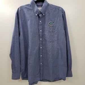 Cutter and Buck Button Down Dress Shirt, Gringham
